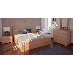 Односпальная, двуспальная кровать Вена с механизмом