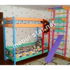 Детская двухъярусная кровать Маугли