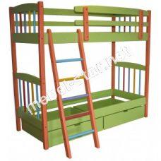 Двухъярусная кровать Радуга