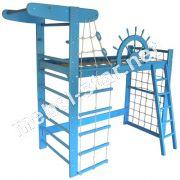 Двухъярусная кровать-чердак Морской Пират