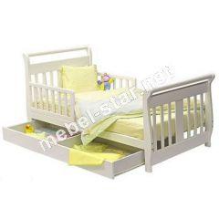 Детская, подростковая кровать Лия массив бука
