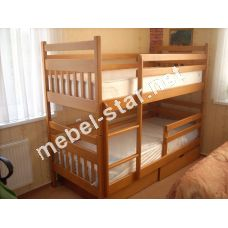 Двухъярусная кровать трансформер  Мальвина