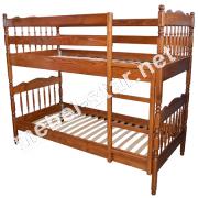 Детская двухъярусная кровать Трансформер ясень