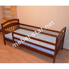 Кровать подростковая из дерева Ирис2