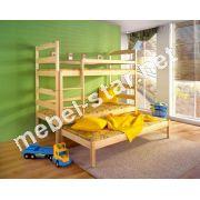 Двухъярусная трехместная кровать Мартина
