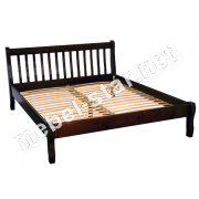 Односпальная, двуспальная, полуторная  кровать Престиж ясень