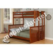 Двухъярусная трехместная кровать Айсберг