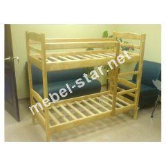 Двухъярусная кровать из  дерева Габби