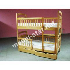 Двухъярусная кровать трансформер Карина люкс