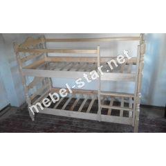 Двухъярусная кровать трансформер Точеная