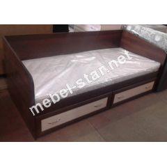 Односпальная кровать с матрасом Тим
