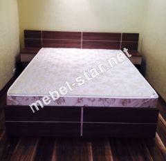 Кровать с матрасом и подъемным механизмом Афина