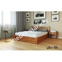 Односпальная, двуспальная кровать Жасмин с механизмом