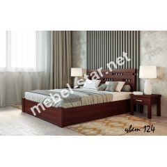 Полуторная, двуспальная кровать Зевс с механизмом