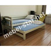 2-х уровневая кровать из дерева Бонни Дуо