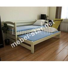 2-х уровневая кровать из дерева Бонни Дуо бук