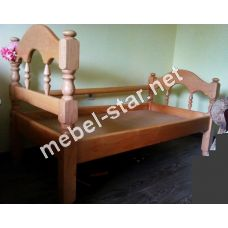 Детская, подростковая кровать из  дерева Точеная