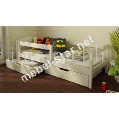 Детская и подростковая  кровать из дерева Мартель бук