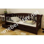 Детская и подростковая  кровать из дерева Тэдди ясень