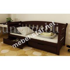 Детская и подростковая  кровать из дерева Тэдди ясень, бук