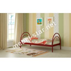 Детская металлическая кровать Алиса