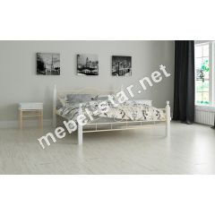 Металлическая кровать Мадера