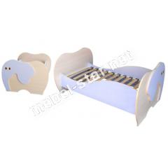 Детская кровать Слоник