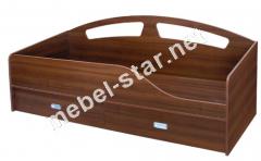 Односпальная кровать с ящиками Офелия NEW