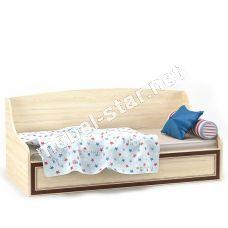 Детская и подростковая кровать-диванчик  Дисней с ящиком
