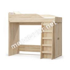 Кровать чердак Валенсия дуб самоа