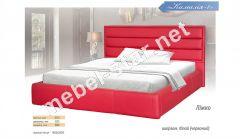Двуспальная  кровать из кожзама Камалия 1