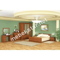 Спальня Даллас шкаф 4 Дв