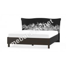 Двуспальная кровать Ева венге