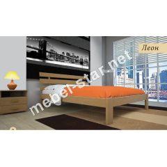 Деревянная кровать односпальная, двуспальная Домино1