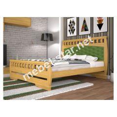 Односпальная, двуспальная деревянная кровать Атлант 11