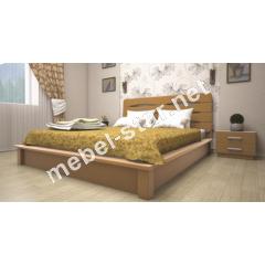 Двуспальная, односпальная деревянная кровать Арго