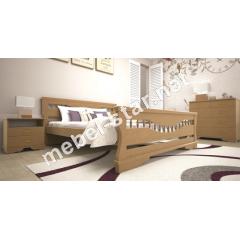 Двуспальная, односпальная деревянная кровать Атлант 10