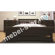 Двуспальная, односпальная деревянная кровать Атлант 13