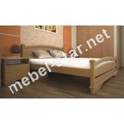 Двуспальная, односпальная деревянная кровать Атлант 2
