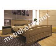Двуспальная, односпальная деревянная кровать Атлант 20