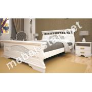 Двуспальная, односпальная деревянная кровать Атлант 23