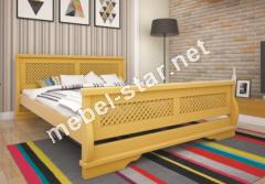 Двуспальная, односпальная деревянная кровать Атлант 24