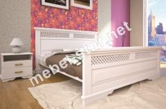 Двуспальная, односпальная деревянная кровать Атлант 26