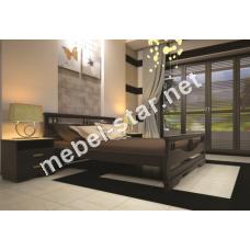 Двуспальная, односпальная деревянная кровать Атлант 3