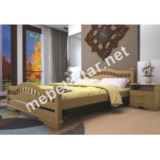 Двуспальная, односпальная деревянная кровать Атлант 7