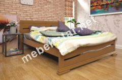 Двуспальная, односпальная деревянная кровать Элегант 2