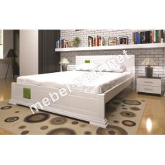 Двуспальная, односпальная деревянная кровать Элегант 3