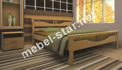 Двуспальная, односпальная деревянная кровать Гармоника