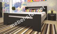 Двуспальная, односпальная деревянная кровать Изабелла 1