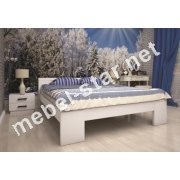 Двуспальная, односпальная деревянная кровать Изабелла 2